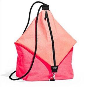 Victoria Secret Pink Sling Beach Gym Backpack Bag